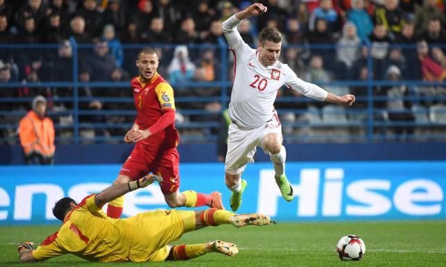 El. MŚ 2018: Zwycięstwo zrodziło się w bólu. Polacy pokonali Czarnogórę i są coraz bliżej gry na mundialu