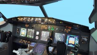 Symulator lotniczy