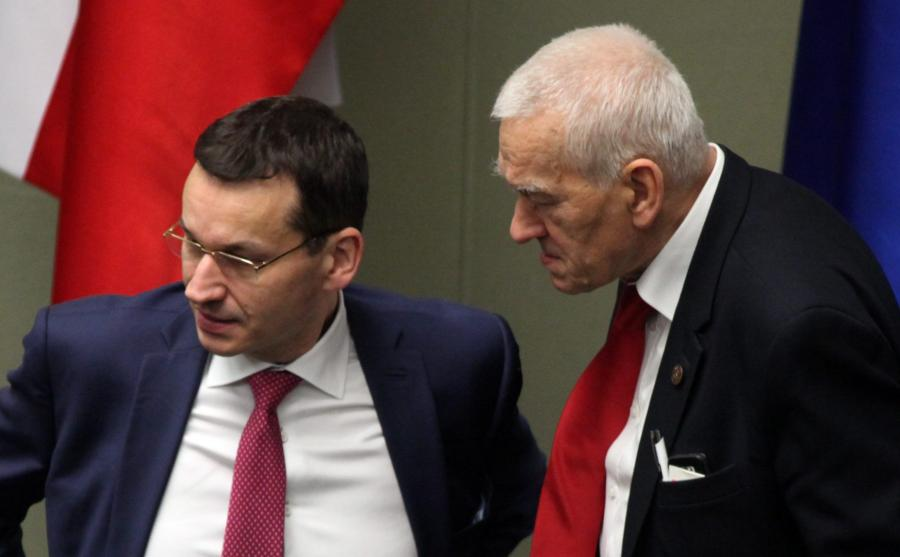 Mateusz i Kornel Morawieccy w Sejmie