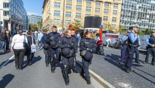 Niemieccy policjanci