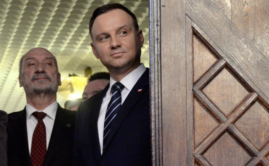 Antoni Macierewicz i Andrzej Duda