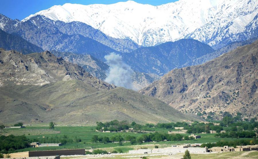 Eksplozja bomby MOAB w Afganistanie