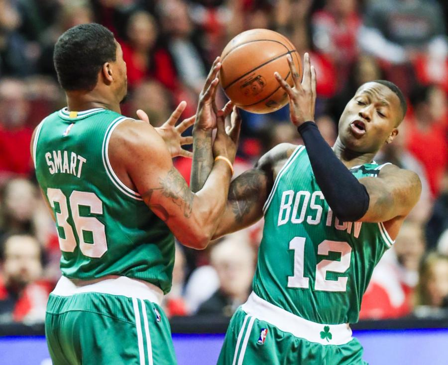 Terry Rozier i Marcus Smart