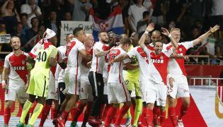 Radość piłkarzy AS Monaco