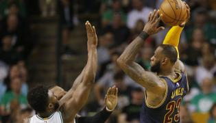LeBron James i Jaylen Brown