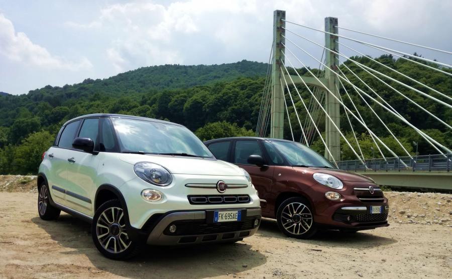 Bojowy Fiat 500L Cross ma długość 4,28 m przy rozstawie osi 2,61 m. Jego szerokość wynosi 1,80 m, a wysokość 1,68 m. A miejski 500L Urban jest delikatnie krótszy, węższy i niższy