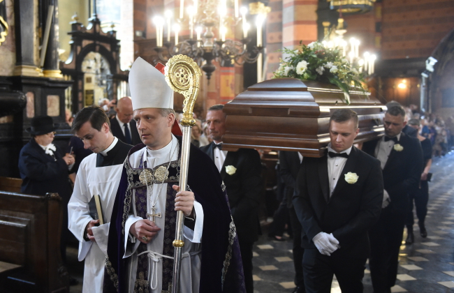 Pogrzeb Zbigniewa Wodeckiego w Krakowie