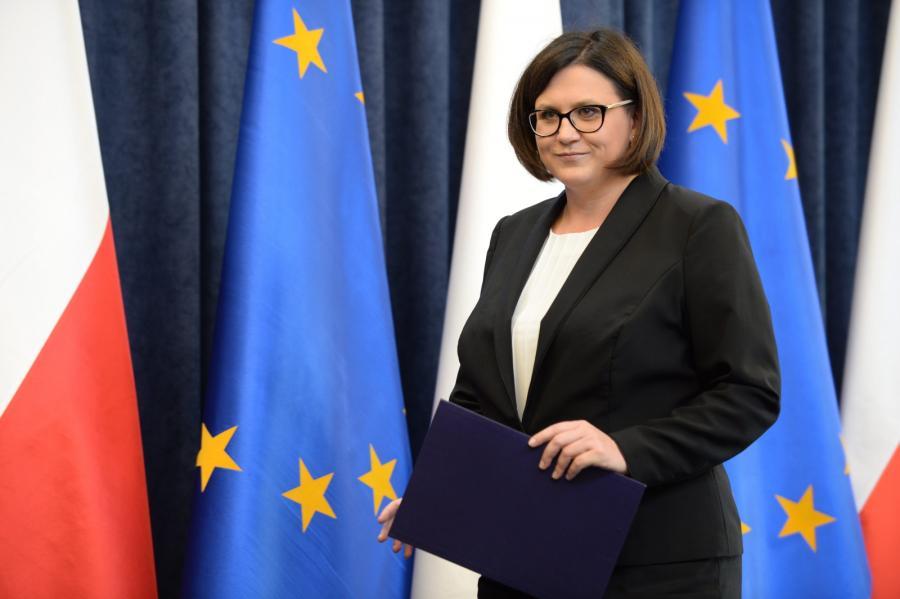 Małgorzata Sadurska, od wczoraj wiceprezes PZU