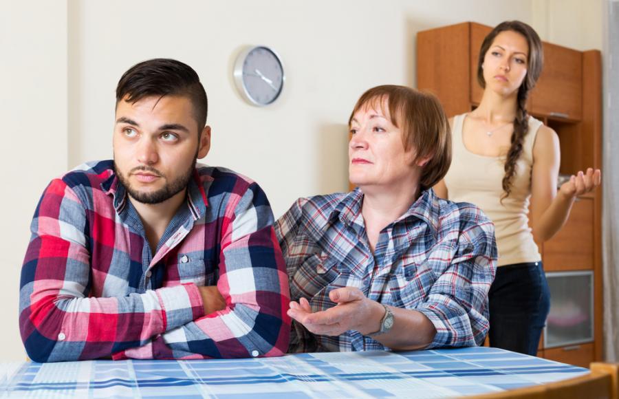 Konflikt w rodzinie