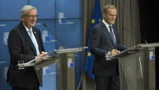 Jean Claude-Juncker i Donald Tusk