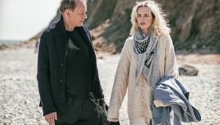 "Stellan Skarsgård oraz Nina Hoss w filmie ""Powrót do Montauk"""