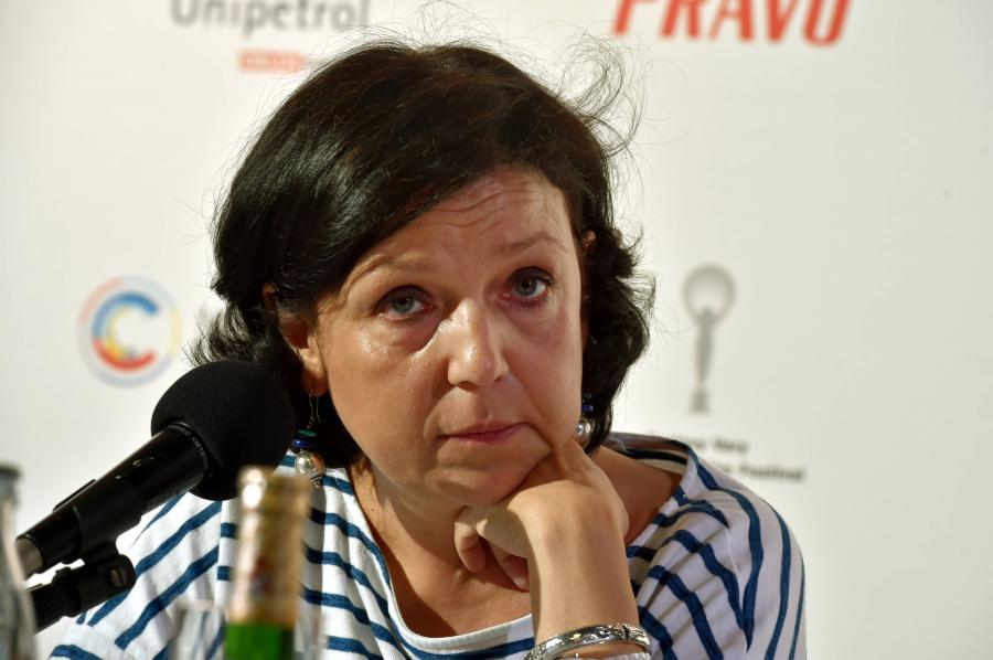 Joanna Kos-Krauze na festiwalu w Karlowych Warach