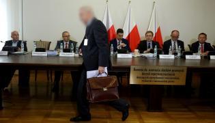 Świadek Michał Sz. podczas przesłuchania przez komisję reprywatyzacyjną
