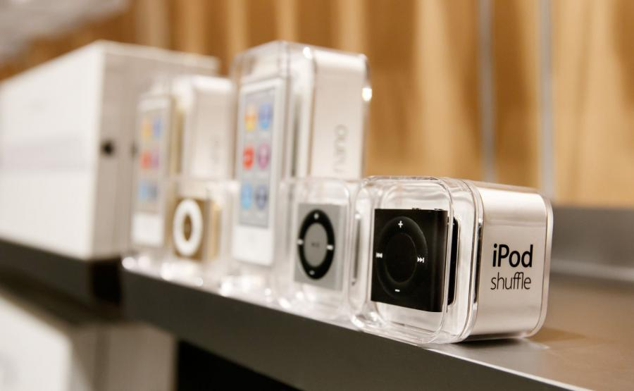 iPod Nano i iPod Shuffle