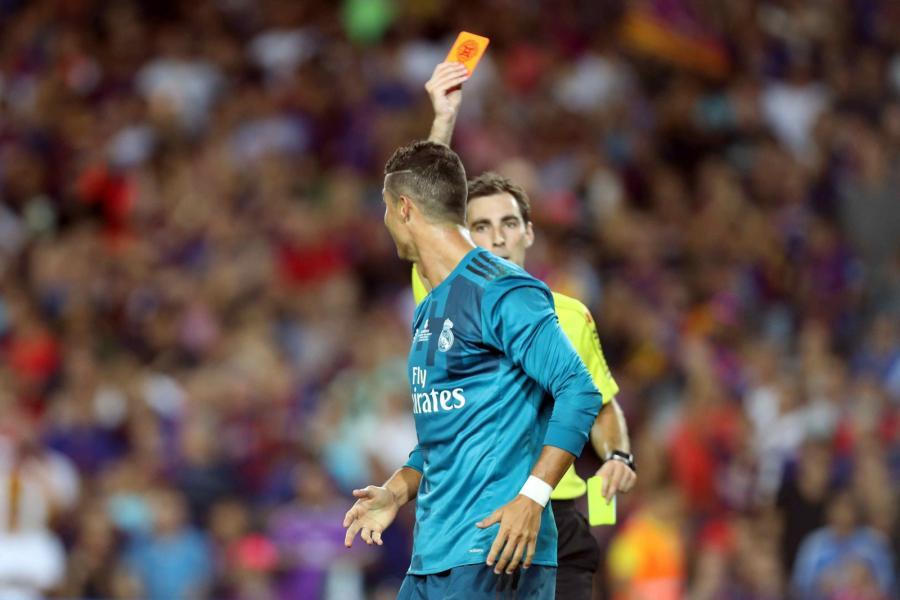 Ricardo de Burgos i Cristiano Ronaldo
