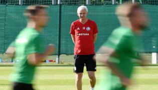 Trener Legii Warszawa Jacek Magiera