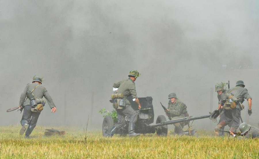 Rekonstrukcja bitwy pod Mławą