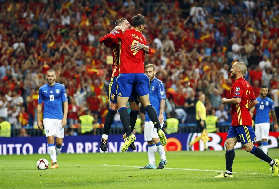 Alvaro Morata i Sergio Ramos