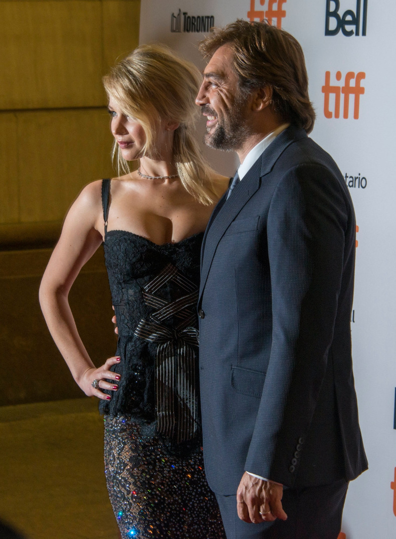 Jennifer Lawrence i Javier Bardem