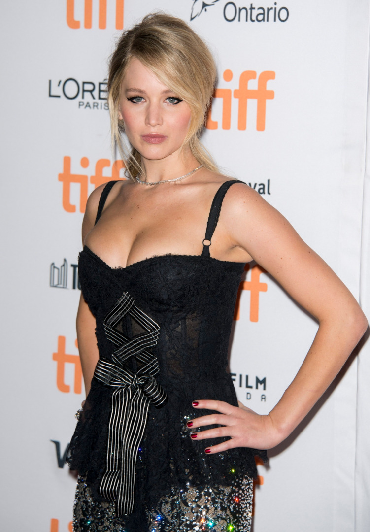 Jennifer Lawrence promowała film Mother!
