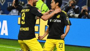Shinji Kagawa i Andrej Jarmolenko