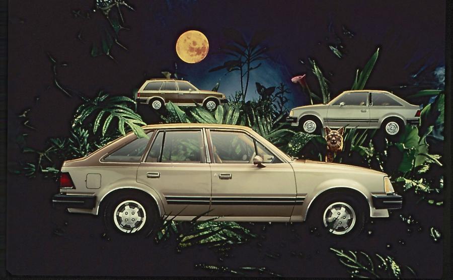 Zdjęcie z nagrodzonej kampanii reklamowej z lat osiemdziesiątych XX wieku
