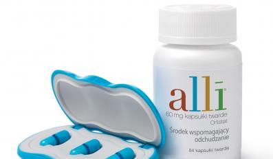Alli, czyli o połowę łatwiejsze odchudzanie