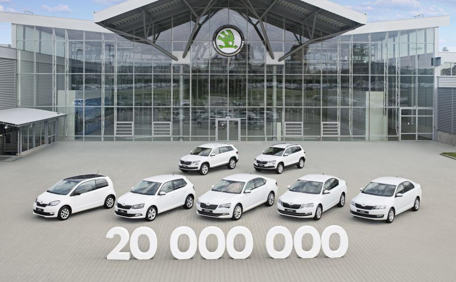 Skoda wyprodukowała 20 mln aut od 1905 roku