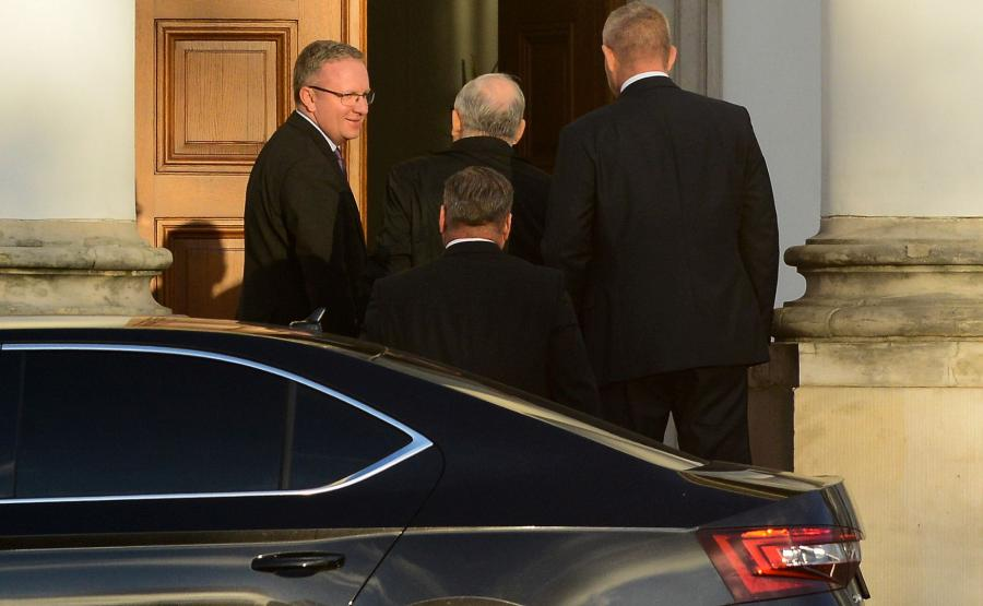 Kaczyński spotkał się z Dudą