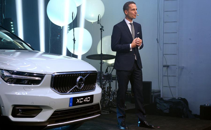 Mariusz Nycz, dyrektor ds. sprzedaży i marketingu Volvo Car Poland
