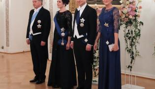 Sauli Vainamo Niinisto i Jenni Haukio oraz Andrzej Duda i Agata Kornhauser-Duda