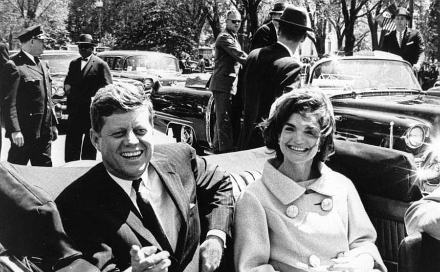 John F. Kennedy i  Jacqueline Kennedy