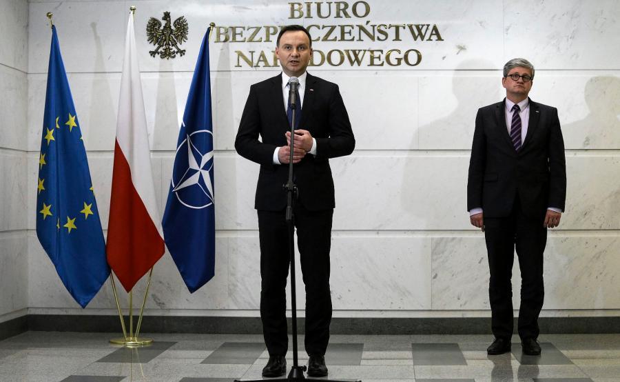 Andrzej Duda i Paweł Soloch