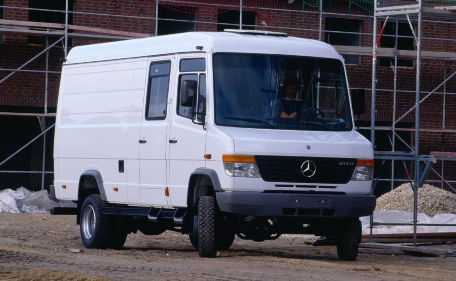 Mercedes 814DA VARIO - w wersji z napędem 4x4 (zdjęcie poglądowe)