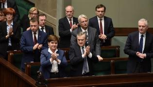 Beata Szydło i rząd
