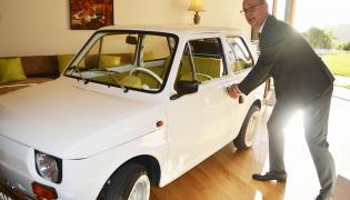 """Tom Hanks i Fiat 126p. """"Zdjęcie spełniające moje marzenie!"""""""