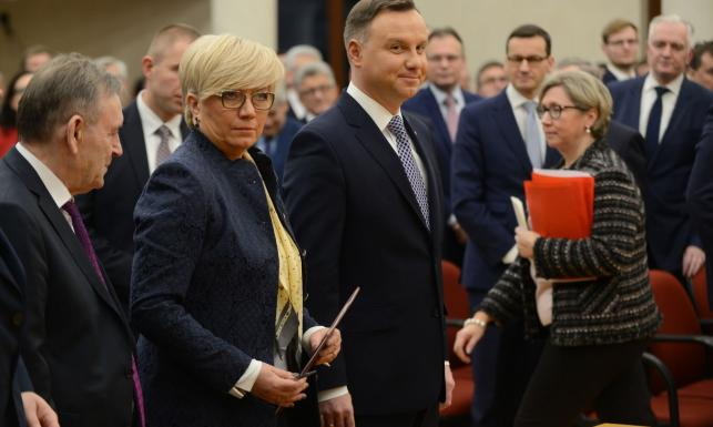 Zgromadzenie Ogólne TK. Przyłębska: Prezes Rzepliński przyznał sobie kompetencję nieznaną konstytucji
