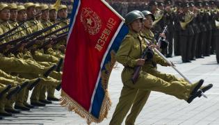 Północna Korea, wojskowa parada