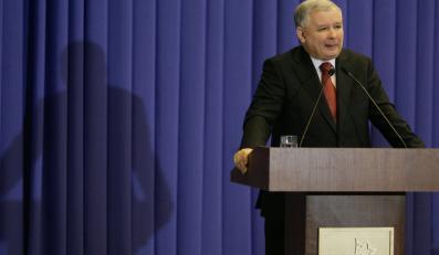 Porażka Platformy cieszy Kaczyńskiego