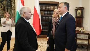 Viktor Orban i Jarosław Kaczyński
