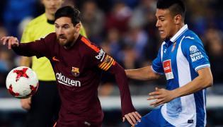 Leo Messi i Oscar Duarte