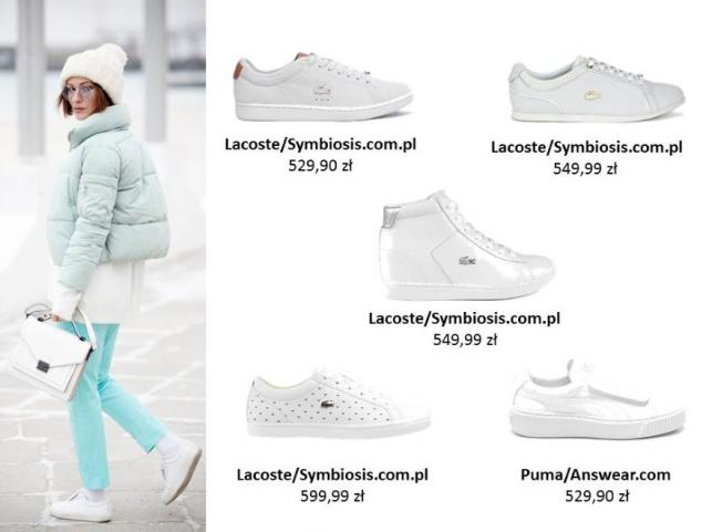 Zimowe STYLIZACJE z butami sportowymi