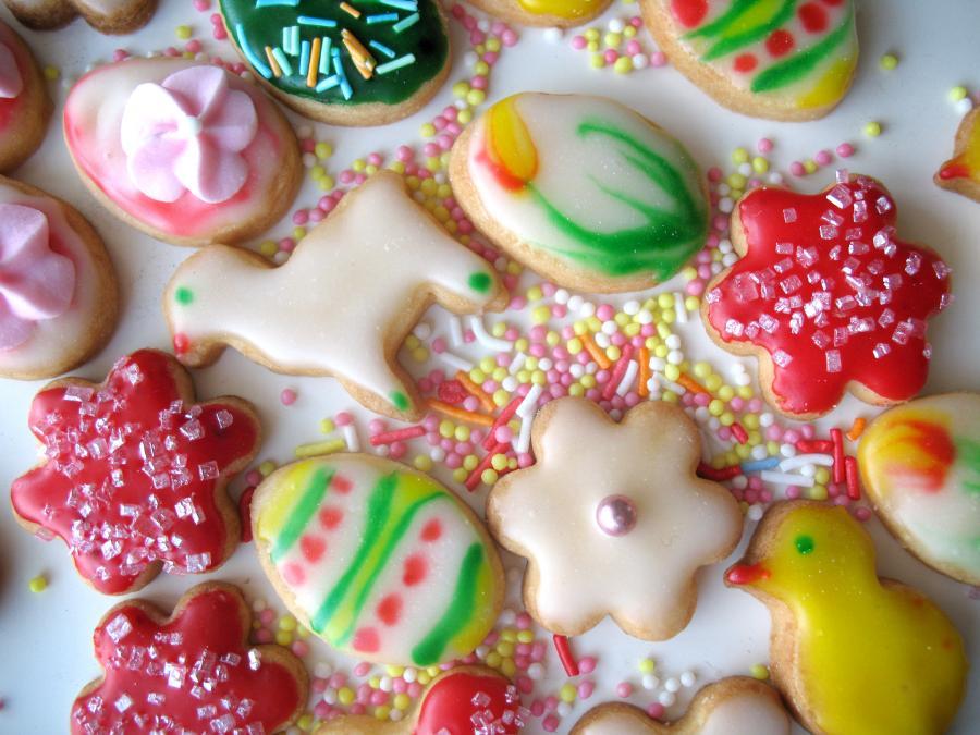 Maślane ciasteczka idealne na święta