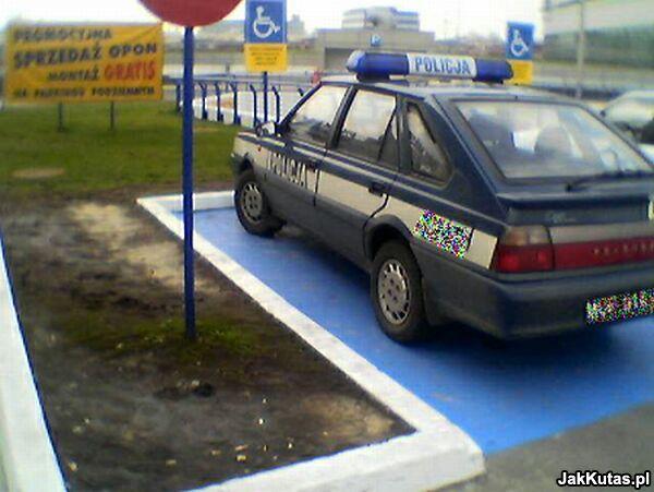 Nie parkuj jak ku...as! Akcja internautów