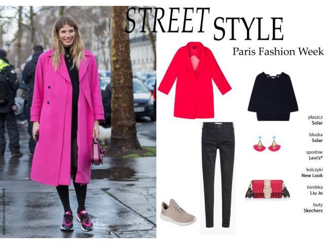 Uliczny styl na Paris Fashion Week