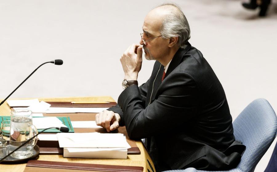 Bashar al-Ja\'afari, ambasador Syrii przy ONZ