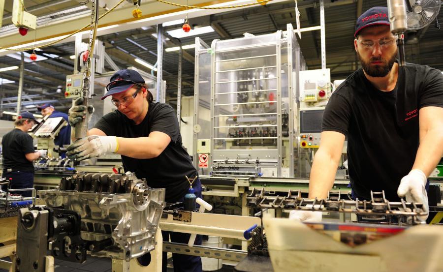 Toyota poszukuje ok. 500 osób do pracy