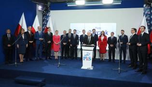 Jarosław Kaczyński i kandydaci PiS w wyborach samorządowych