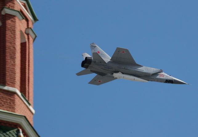 MIG-31 fighter