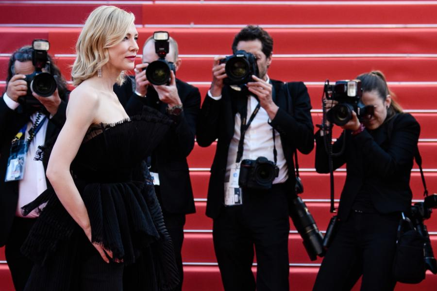 Cate Blanchett w Cannes